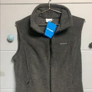 NEW Women's Columbia Fleece Vest, Large